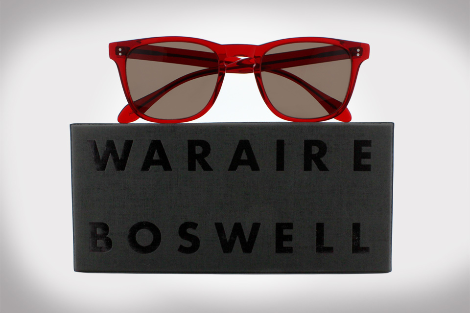 "Garrett Leight California Optical x Waraire Boswell ""Made In America"" Spring/Summer 2014"