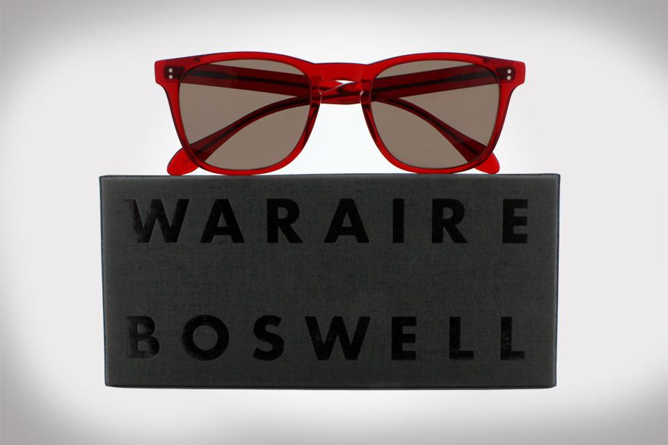 "Garrett Leight California Optical x Waraire Boswell ""Made In America"" Spring/Summer 2014"