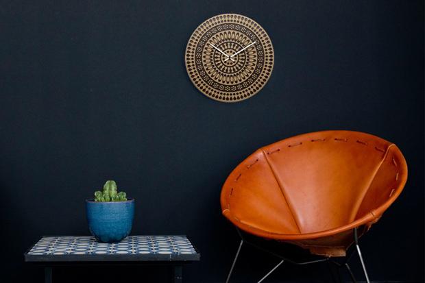 House Industries x Health Ceramics Clocks