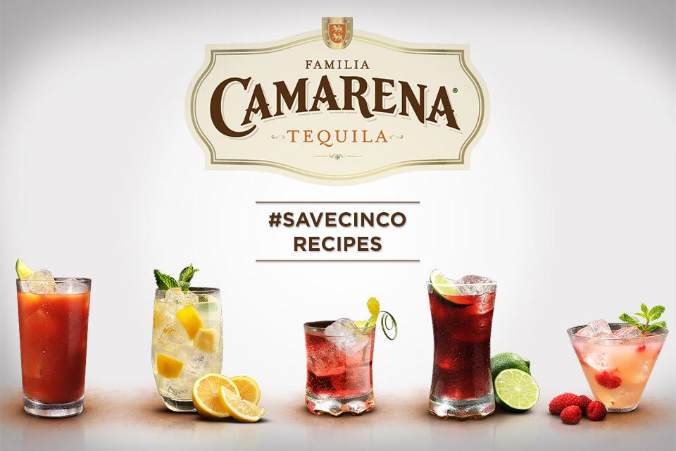 Camarena Tequila Recipes #SAVECINCO