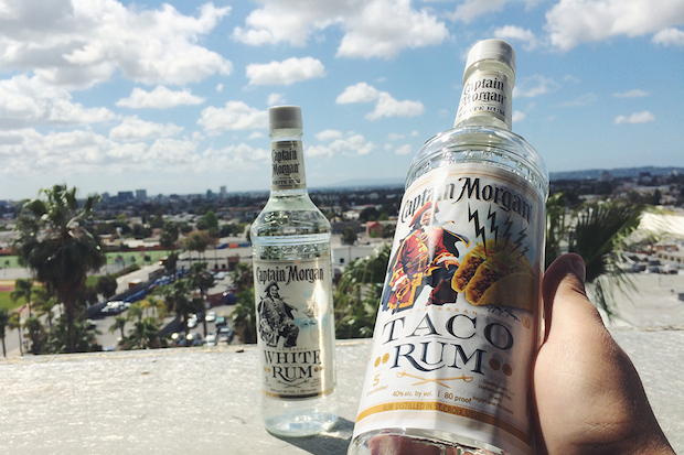 Captain Morgan April Fools Day Taco Rum