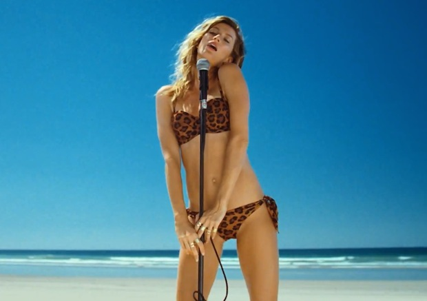 Gisele Bundchen in H&M 2014 Summer Swimwear Video