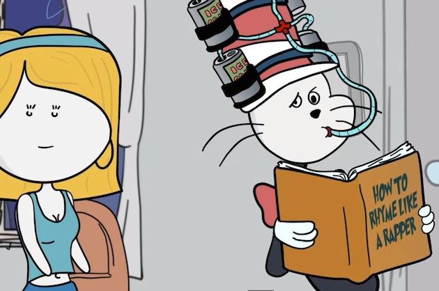 itsAlexClark Cartoons - Drunk Cat in the Hat