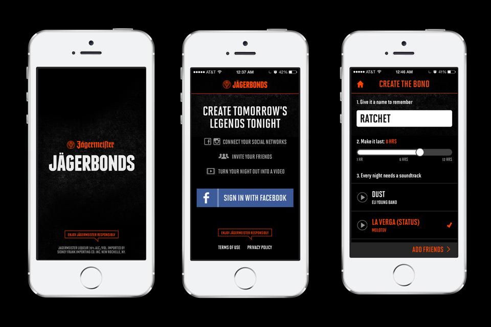 JagerBonds App by Jagermeister