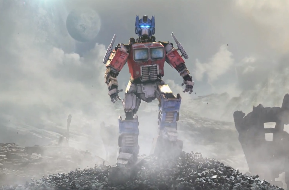 Optimus Prime in Titanfall