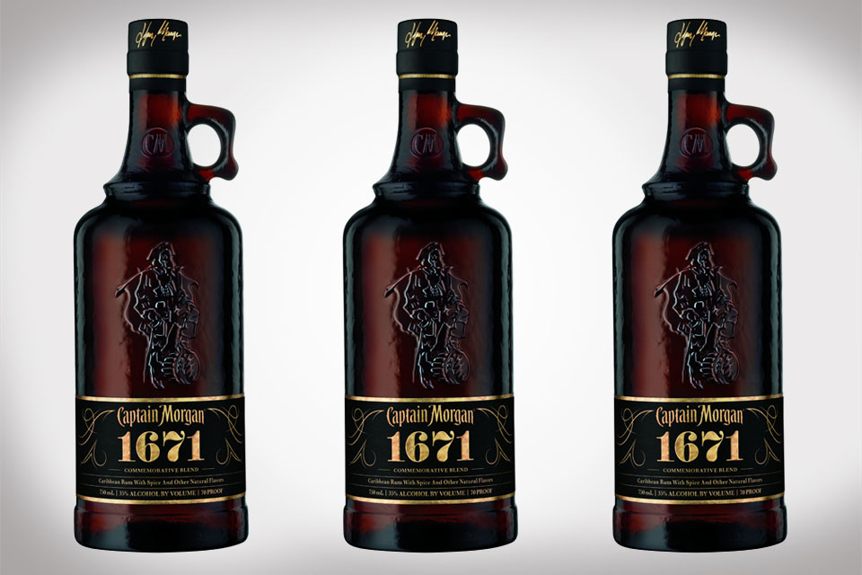 Limited Edition Captain Morgan 1671 Commemorative Blend