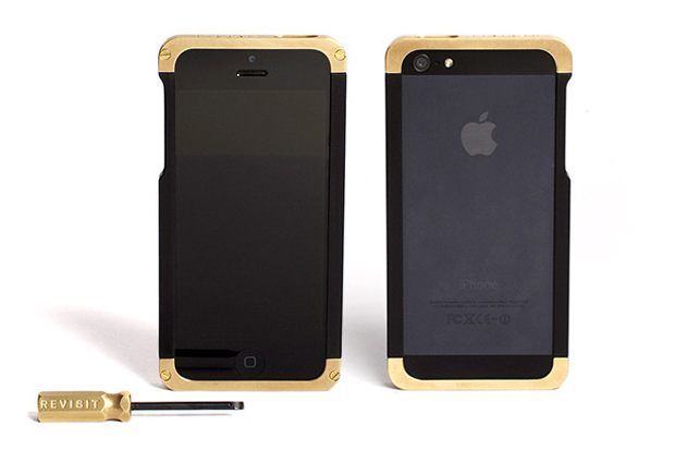 Revisit Brass iPhone Case