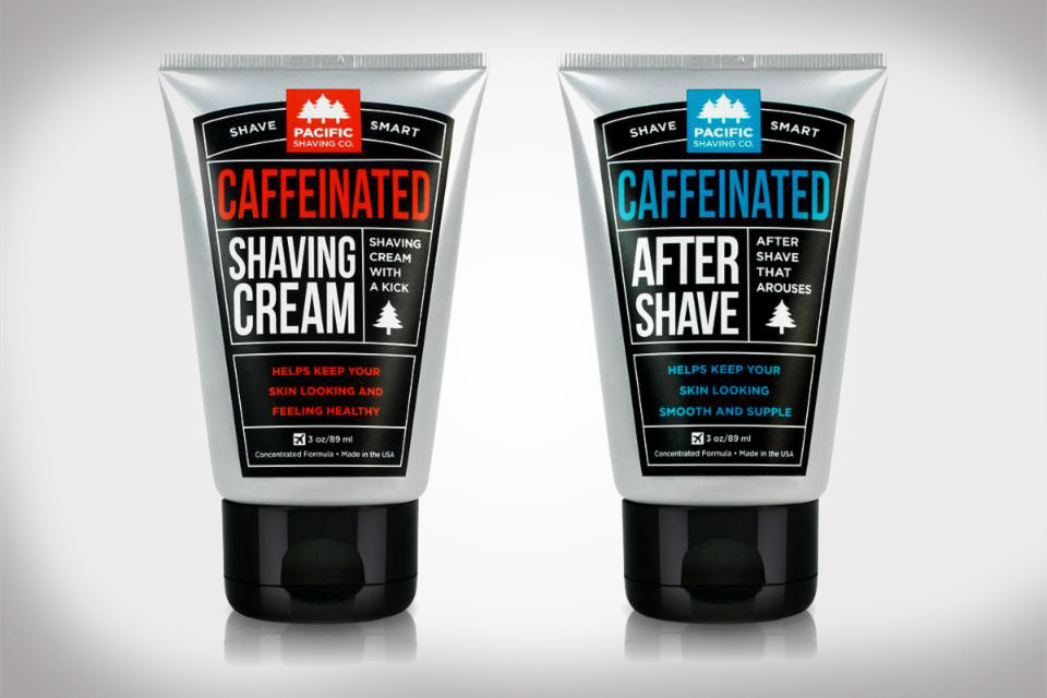 Caffeinated Shave Cream by Pacific Shave Co.
