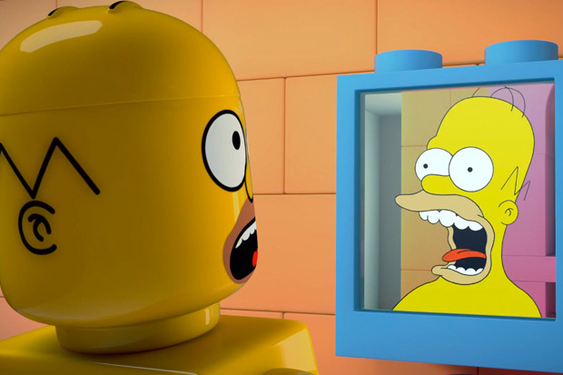 The Simpsons LEGO Episode Trailer