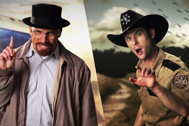 Walter White vs. Ricks Grimes in Epic Rap Battles of History