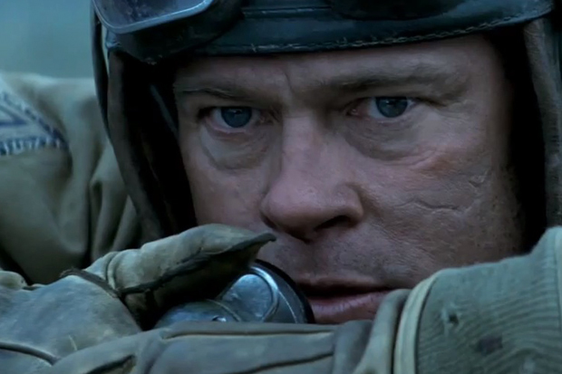 Brad Pitt - Fury Movie