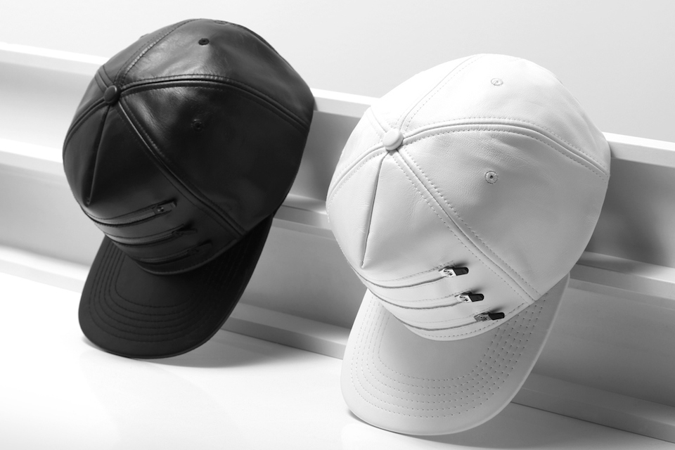 Stampd 2014 Spring/Summer Three Zipper Leather Hats