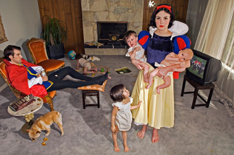 'Fallen Princesses' - Snow White