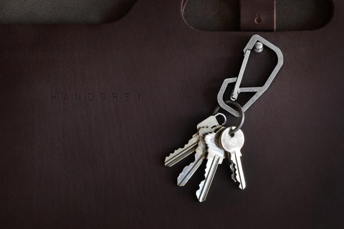 HANDGREY™ : Quick Release Titanium Keychain Carabiner