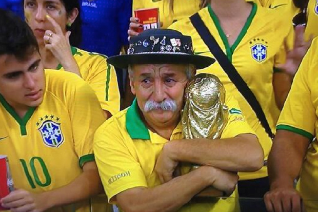 Sad Brazil - World Cup