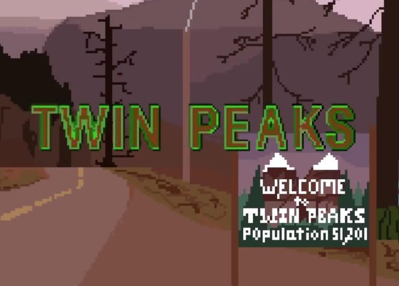 Twin Peaks 8-Bit Style