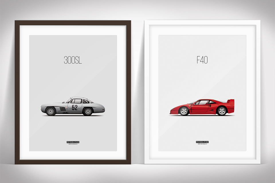 Petrolified Car Posters