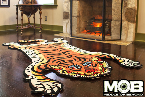 Tibetan Tiger Tattoo Rug
