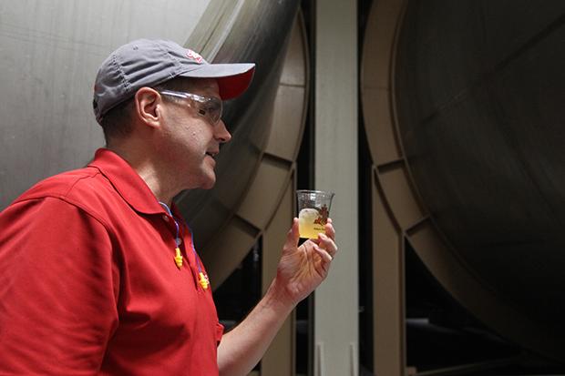 Dave Maxwell, Brewmaster, Anheuser Busch