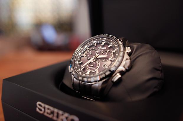 Seiko Astron GPS Solar Watch #AstronElite