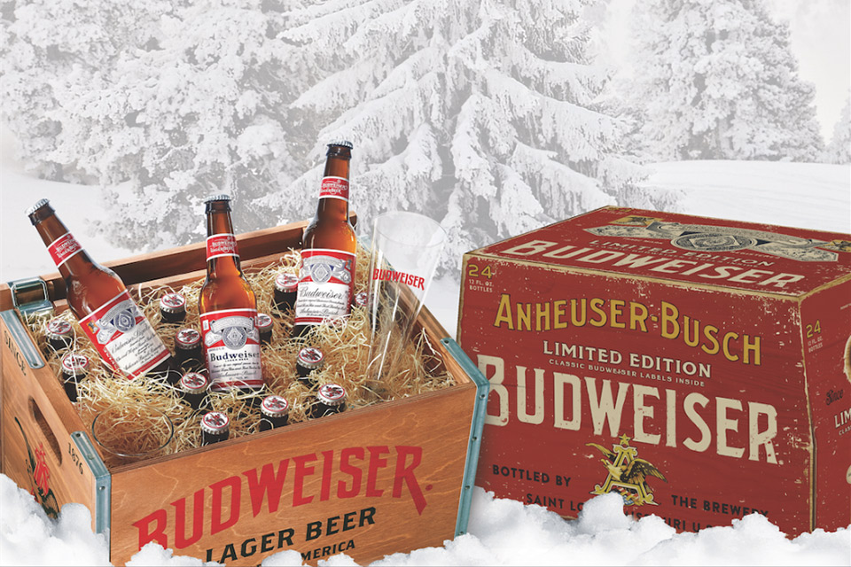 Limited Edition, Handmade Crates from Budweiser