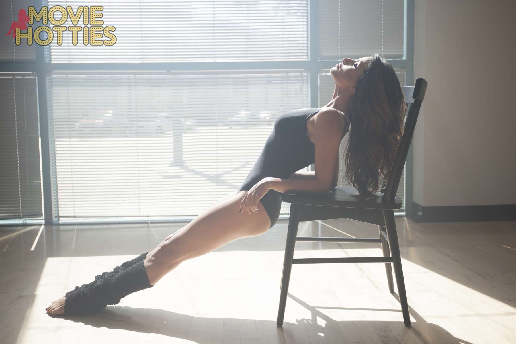Mikaela Hoover Flashdance Photo Shoot