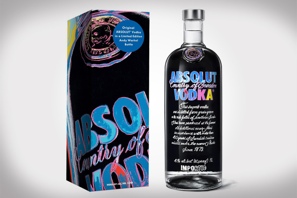 Absolut Andy Warhol Limited Edition Bottle