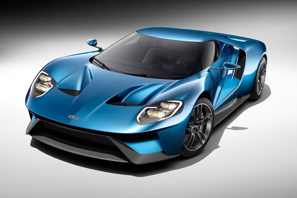 New Ford GT Unveiled at 2015 Detroit Auto Show