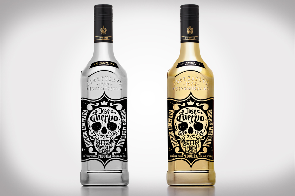 Jose Cuervo® Tequila 220th Anniversary With Limited Edition Metallic Bottles