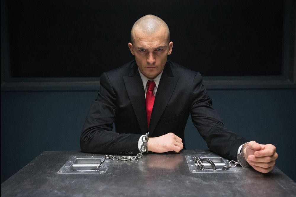 Rupert Friend is Agent 47 in Hitman