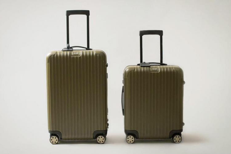 Monocle x Rimowa Multiwheel Luggage