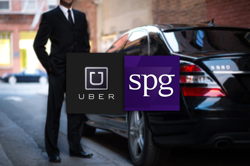 Starwood Preferred Guest partners with Uber