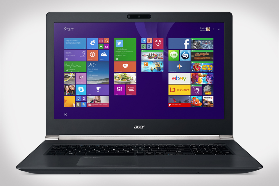 Acer Aspire V 17 Nitro Notebook with Intel RealSense 3D Camera