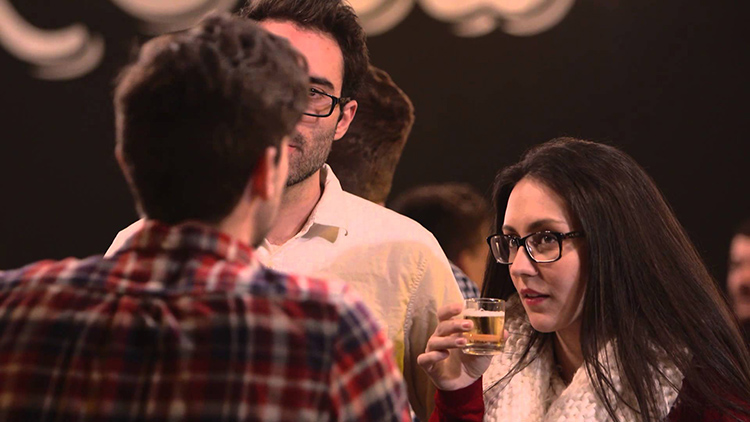 Budweiser Blind Taste Test in Brooklyn