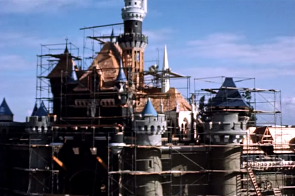 Disneyland Construction Time-lapse Video