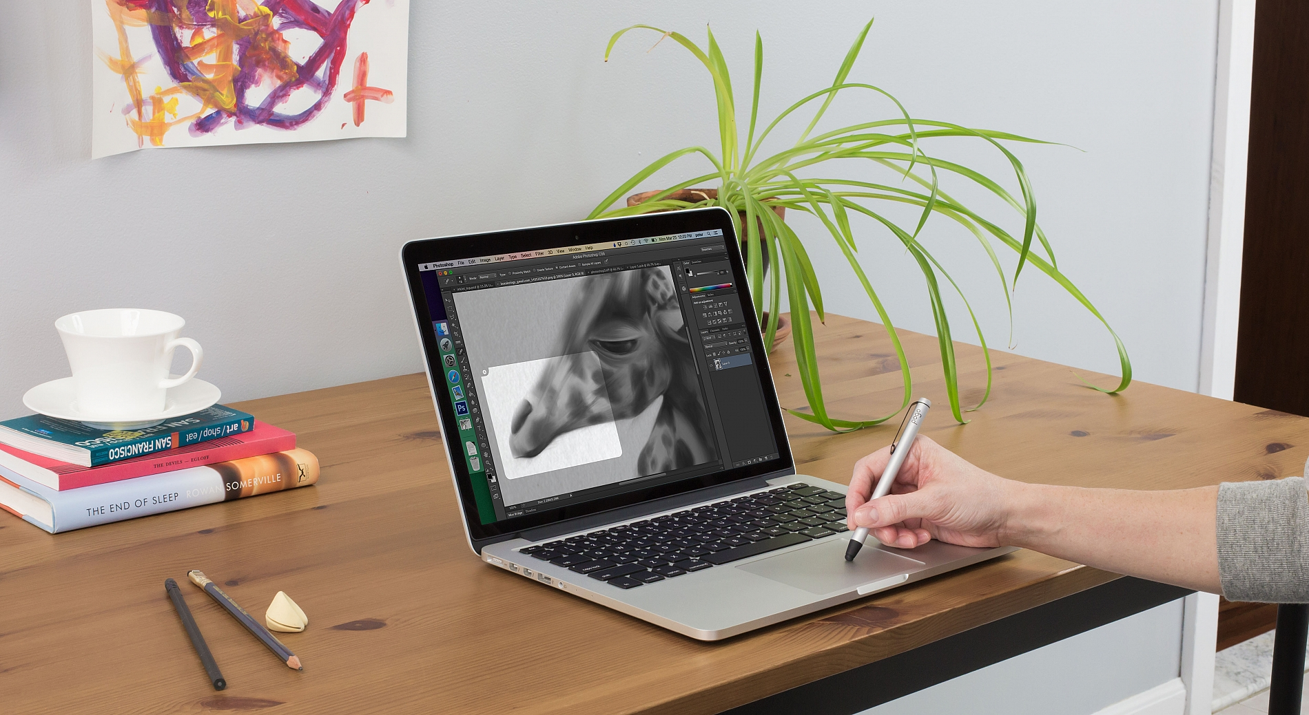 Inklet Turns Your MacBook Trackpad Into a Drawing Tablet