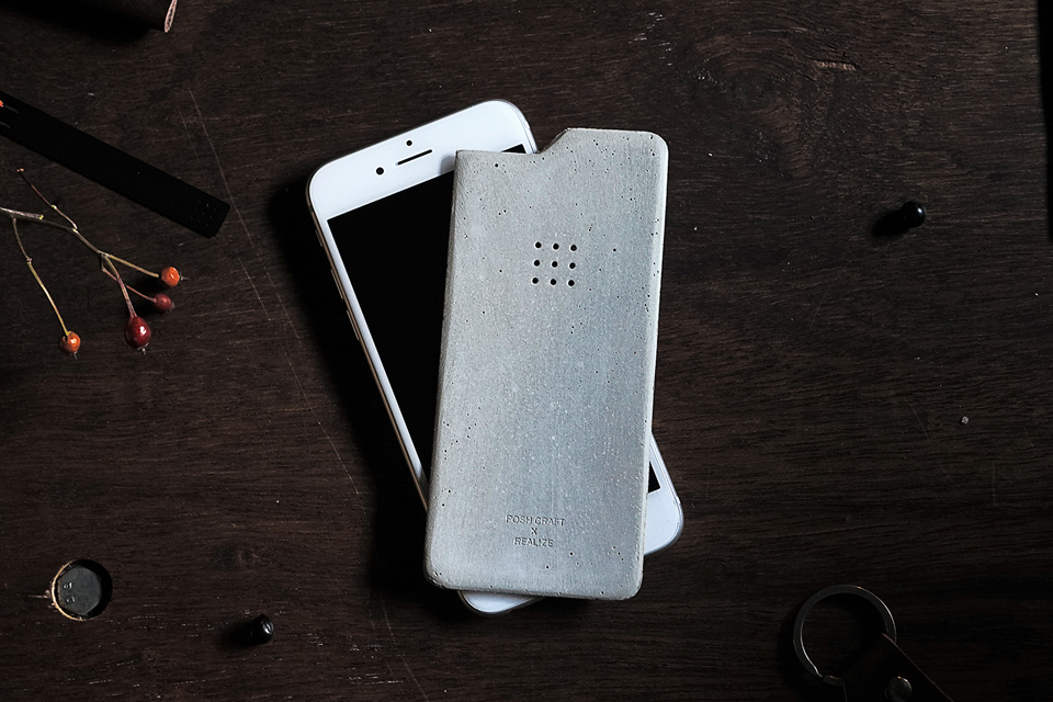 Luna Concrete iPhone 6 Skin