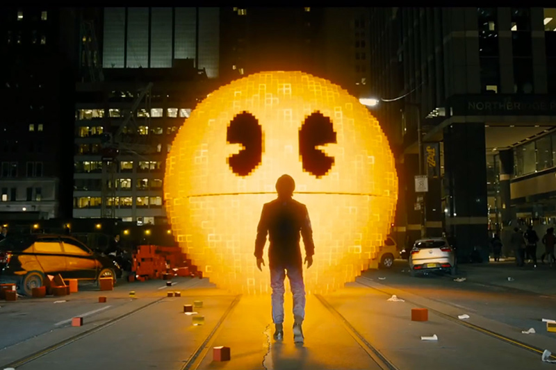 Pac-Man in Pixels Movie