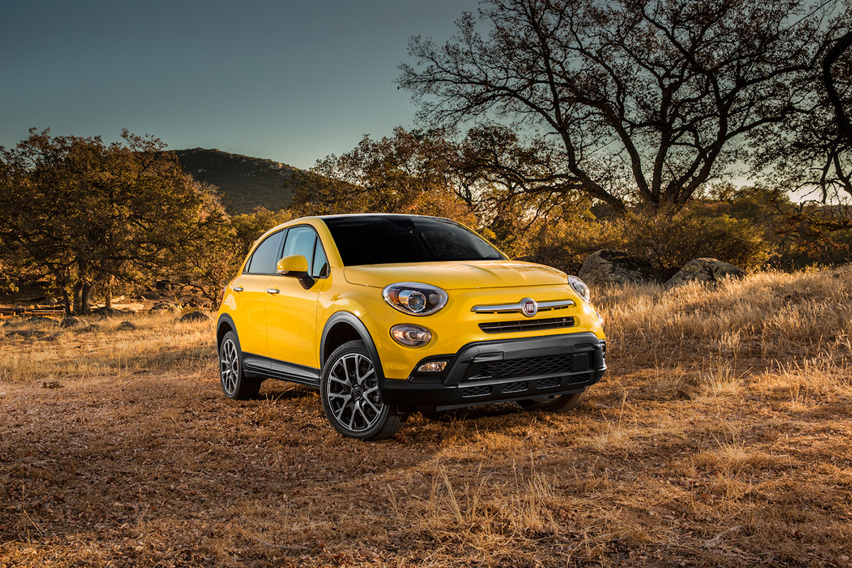 Test Driving the 2016 Fiat 500x