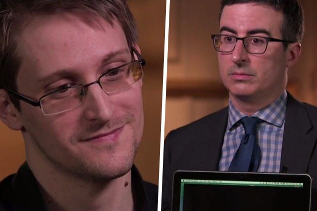 Edward Snowden Interview with John Oliver