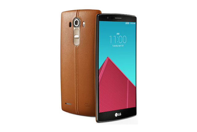 First Look at the LG G4 Smartphone