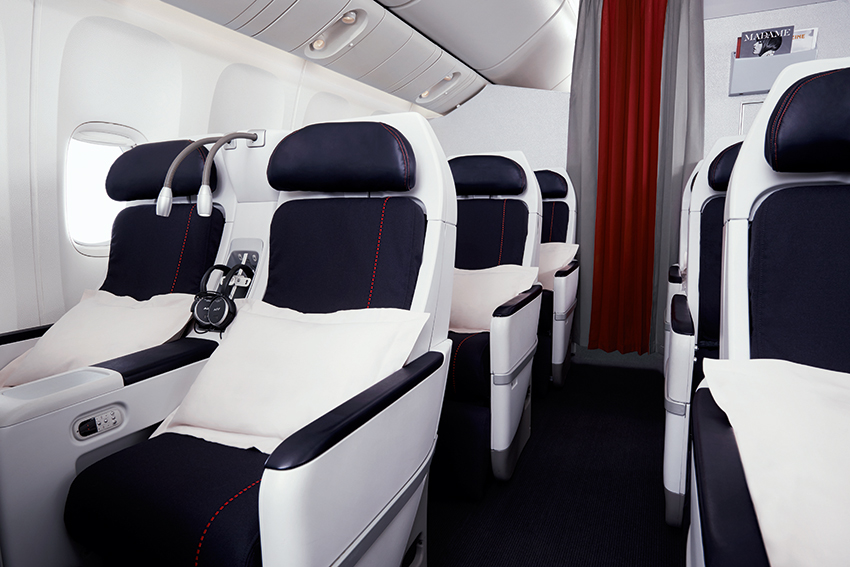 Premium Economy Cabin on Air France