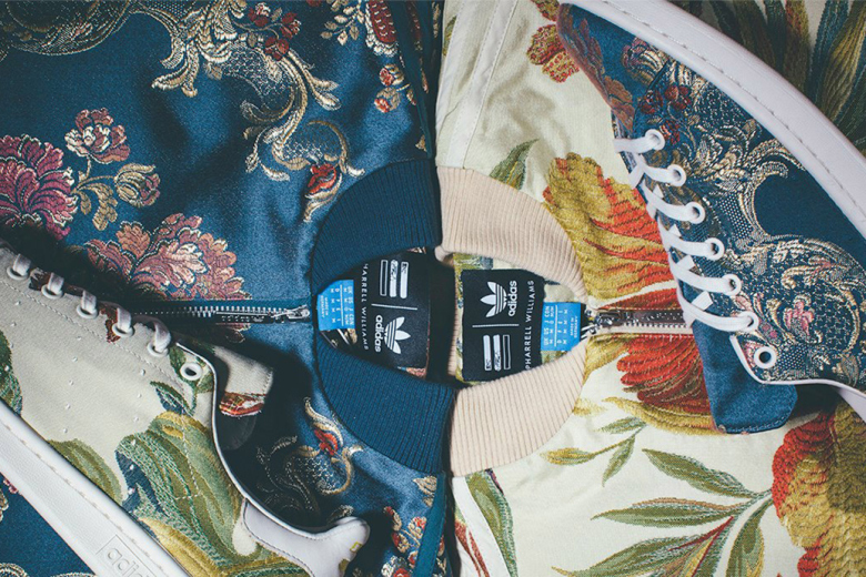 "A First Look at the Pharrell Williams x adidas Originals ""Jacquard"" Collection"