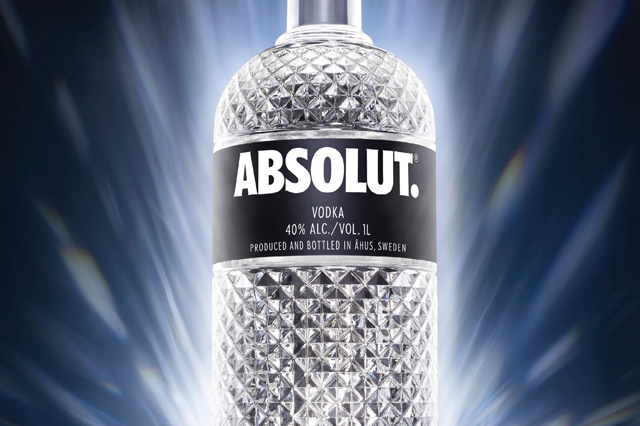 Absolut Spark Bottle