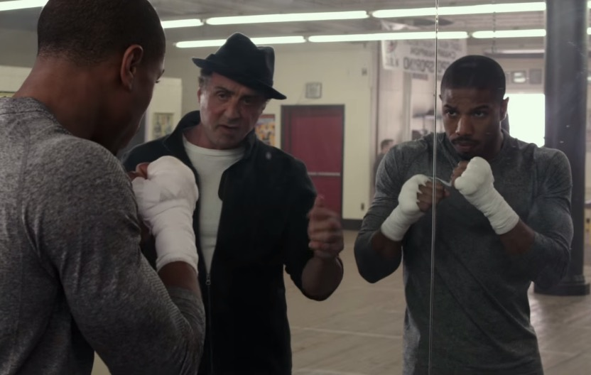 Creed, starring Michael B. Jordan and Sylvester Stallone