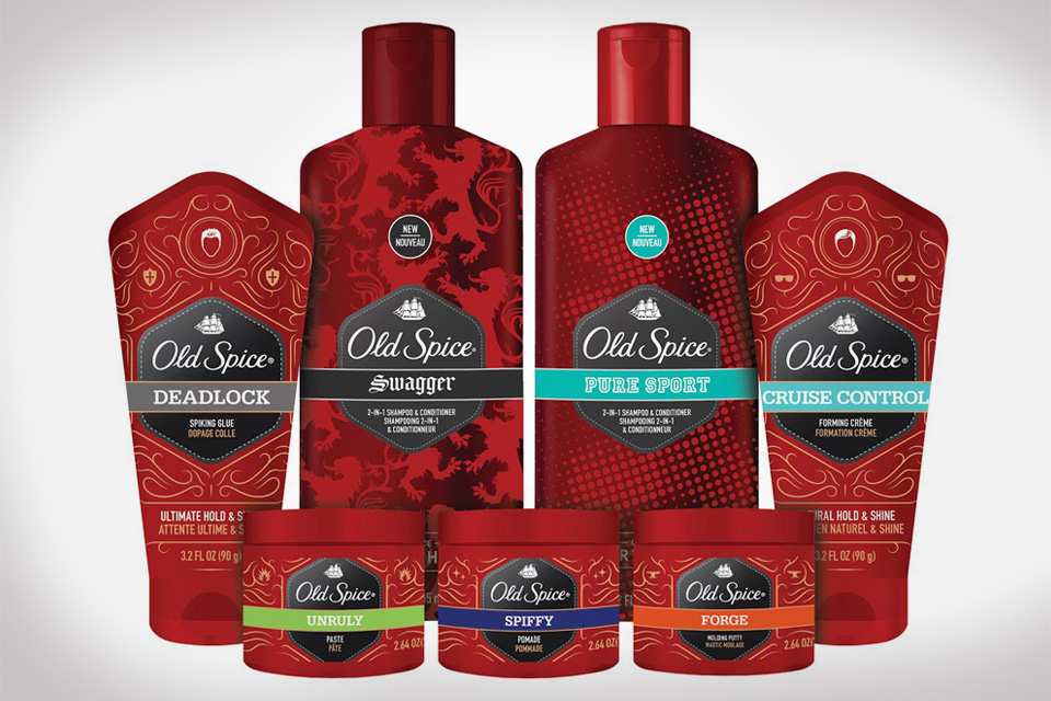 Old Spice Hair Product