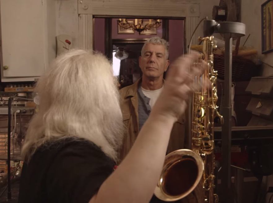Raw Craft - Episode 3: Anthony Bourdain interviews legendary saxophone designer