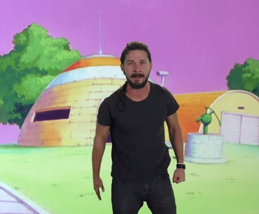 """Just Do It"" Toonami Edition, starring Shia LaBeouf"