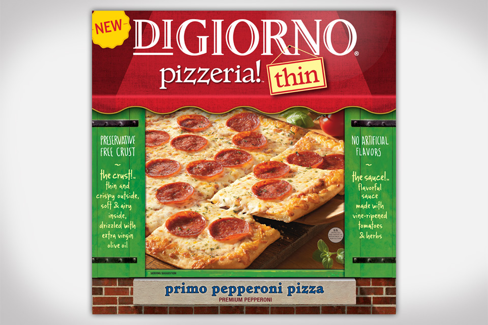 DiGiorno Launches New Line of Pizzeria! Thin Crust Pizzas