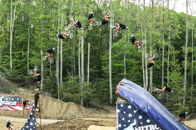Jed Mildon Quad Backflip